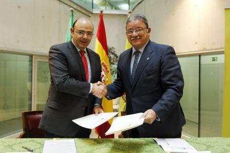 El Colegio de Abogados de Granada y la Diputación renuevan el convenio de la oficina de intermediación hipotecaria