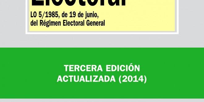 Ley Orgánica Electoral (LO 5/1985, de 19 de junio, del Régimen Electoral General)