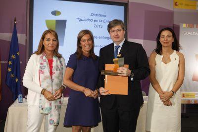 """Broseta abogados recibe el distintivo """"Igualdad en la Empresa"""""""