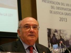 """Carlos Carnicer: """"La reforma de la Justicia Gratuita no puede hacerse en contra de los ciudadanos y a espaldas de los abogados"""""""