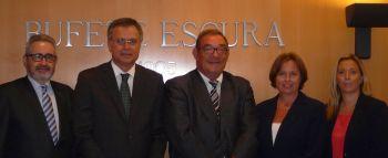 Bufete Escura integra el despacho de abogados Frouchtman, Sant i Josa de Barcelona