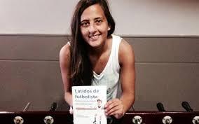 Aintzane Encinas, antigua alumna del Máster en Derecho del Deporte del ISDE, triunfa con su libro Latidos de futbolista