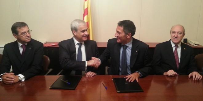El CICAC firma un convenio con el Departamento de Justicia catalana para la puesta en marcha de un turno de oficio específico para personas mayores