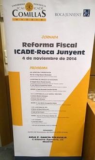 ICADE y Roca Junyent diseccionan la Reforma Fiscal