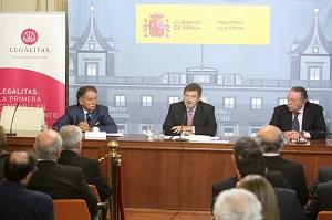 El Ministro de Justicia, Rafael Catalá, presidió la inauguración del Encuentro sobre Menores y Medios de Comunicación