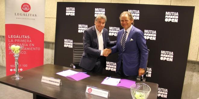 Legálitas velará jurídicamente por los tenistas participantes en el Mutua Madrid Open