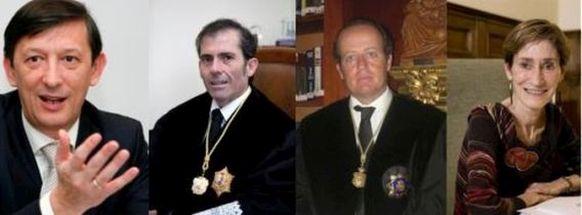 Pere Huguet, Francisco Javier Lara, Marcos Camacho y Victoria Ortega candidatos a presidir el CGAE