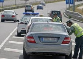 Accidente automóvil. Conducción imprudente