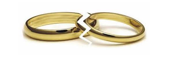 Las demandas de divorcio disminuyeron un 2,4% en 2015