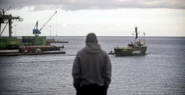 La Audiencia Nacional archiva la causa abierta por los incidentes entre Greenpeace y militares de la Armada en aguas canarias en 2014