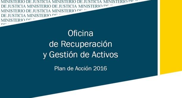 La Oficina de Gestión y Recuperación de Activos procedentes de actividades delictivas estará operativa en 2017