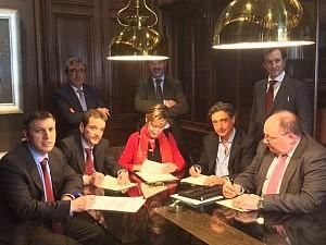 Las cuatro asociaciones judiciales y la Abogacía se unen para consensuar propuestas de mejora de la Justicia