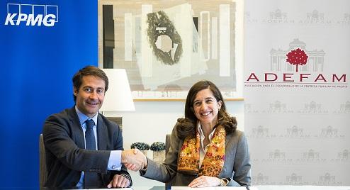 ADEFAM y KPMG renuevan su acuerdo para impulsar la empresa familiar madrileña
