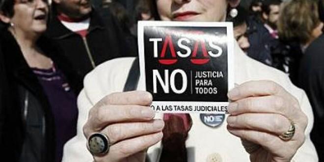 Las asociaciones de jueces, letrados de la Administración de Justicia y fiscales piden la derogación íntegra de la Ley de Tasas de 2012