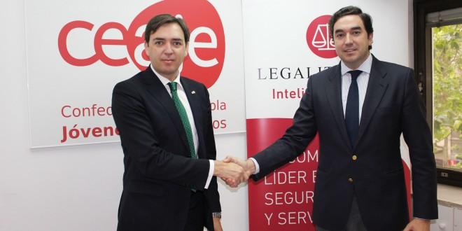Legalitas y Ceaje firman un acuerdo de colaboración