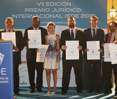 Último mes para la recepción de candidaturas de la VIII Edición del Premio Jurídico Internacional ISDE
