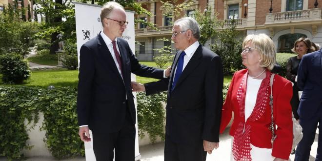 Manuel Medina presidente de la Fundación Princesa Kristina de Noruega