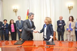 El CGPJ y la Fiscalía firman un convenio de colaboración para la promoción de la mediación