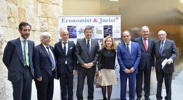 Gran éxito de la celebración del número 200 Economist & Jurist Revista líder del sector Jurídico