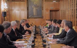 Reunión del Foro Justicia y Discapacidad con el ministro de Justicia en funciones