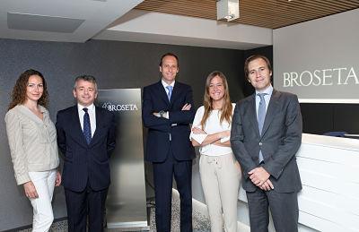 Broseta refuerza el área de Derecho Mercantil con la incorporación de dos socios y tres abogados