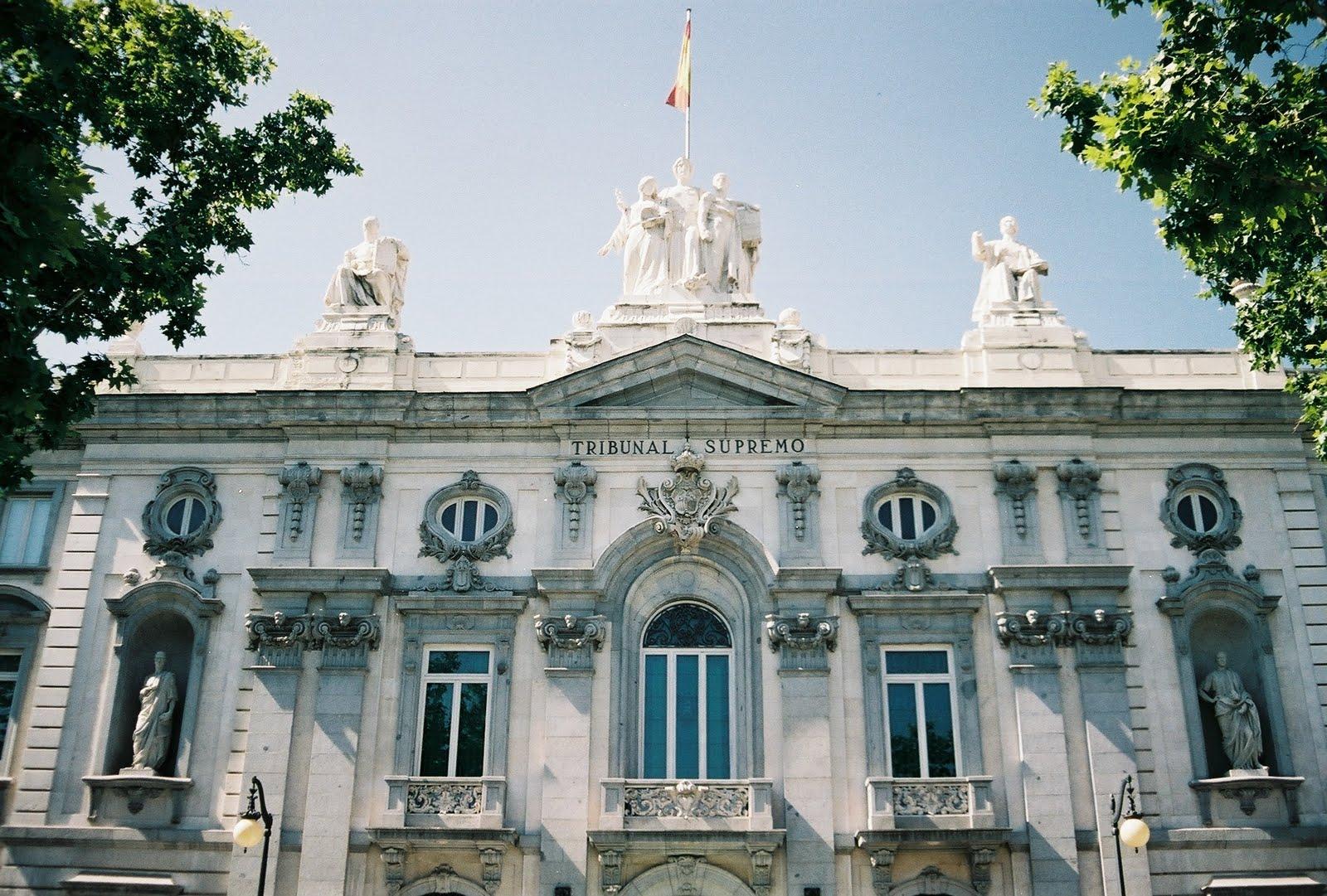 Tribunal Supremo fachada edificio