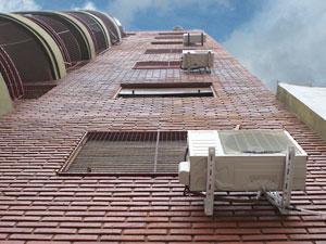 El TS señala que la doctrina flexible que permite la instalación de aparatos de aire acondicionado en la fachada no es aplicable si existe preinstalación centralizada