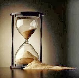 reloj arena roto