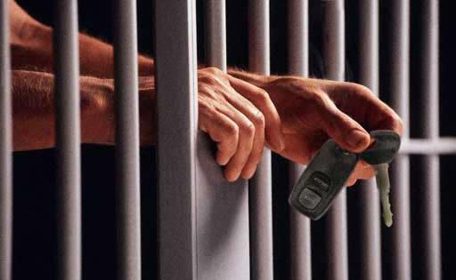 delito contra la seguridad vial carcel coche