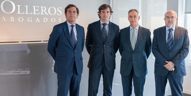 Olleros Abogados refuerza su área Laboral con la incorporación de un equipo de 17 profesionales liderados por Alfredo Aspra