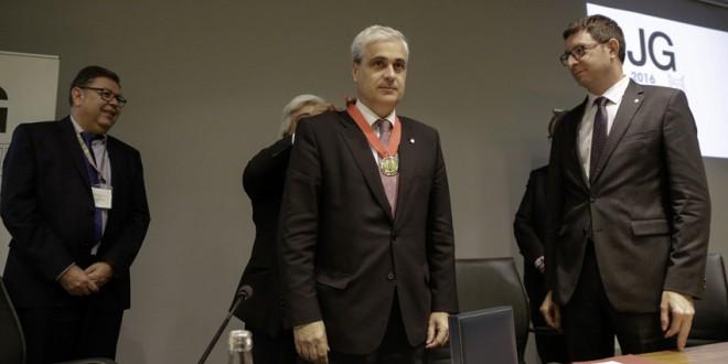 El Consell de l'Advocacia Catalana entrega la Medalla de Oro al exconseller de Justícia, Germà Gordó
