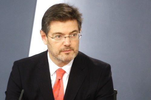 Catalá analiza con representantes del Consejo General de Economistas el impacto de la economía en la Justicia española