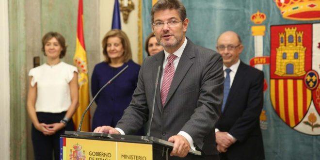 Catalá pide disculpas a los abogados del Turno de Oficio y promete que no habrá más retrasos en su pago