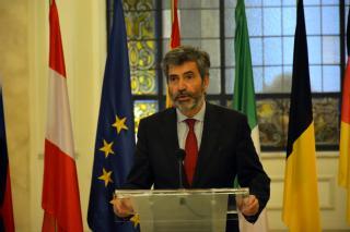 El presidente del TS y del CGPJ subraya el papel de los Tribunales Supremos ante los desafíos que afronta Europa