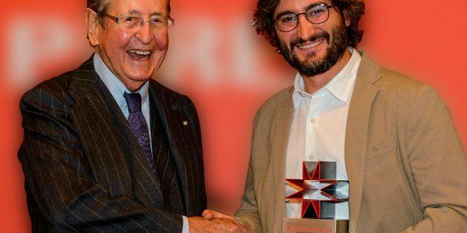 Jesús Muñoz, ganador del III premio a la innovación de la Fundación Alberto Elzaburu