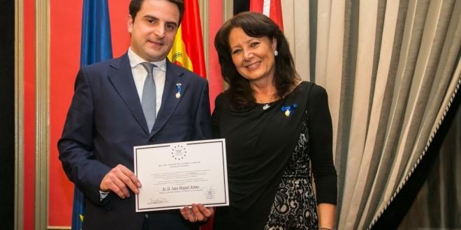 JM Arnau & Asociados, galardonado con la medalla europea al mérito en el trabajo, por la Asociación Europea de Economía y competitividad