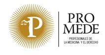Promede obtiene la certificación de calidad ISO 9001:2015 para sus servicios de mediación y peritación sanitaria, valoración del daño corporal y formación
