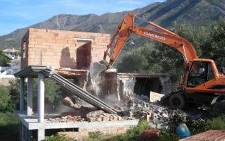 El Tribunal de Estrasburgo abre una causa contra España por el derribo de una vivienda en la Cañada Real