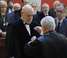 José Manuel Maza toma posesión de su cargo como fiscal general del Estado