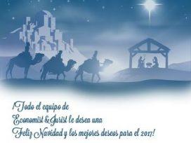 Economist&Jurist les desea Feliz Navidad y Próspero Año Nuevo