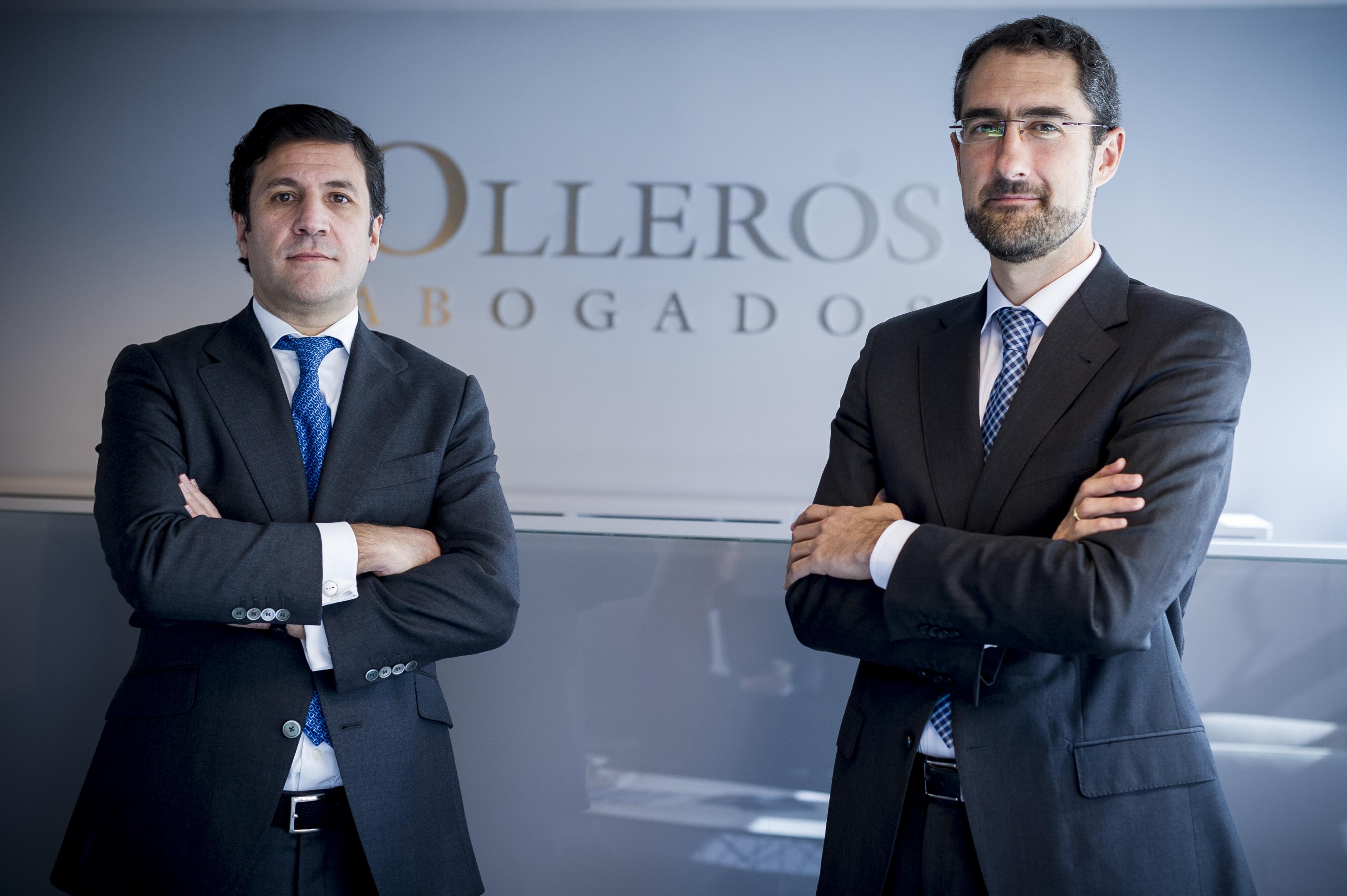 Guillermo Medina, socio de Mercantil, y Gonzalo Cerón, socio responsable de Mercantil