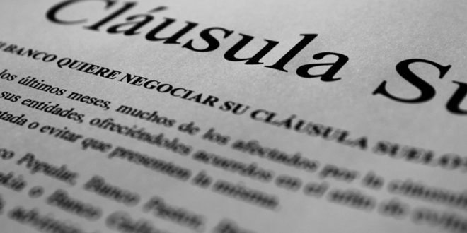 Nulidad de las cláusulas abusivas de contrato de préstamo hipotecario a favor de SL