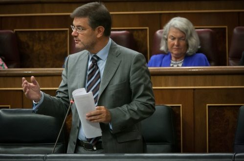 El Ministro defiende una nueva Ley de Enjuiciamiento Criminal que otorgue la dirección de la investigación a la Fiscalía