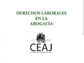 La Confederación Española de Abogados Jóvenes denuncia las pésimas condiciones laborales de los jóvenes abogados