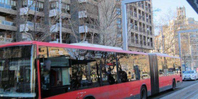 Accidente Laboral. Caída en autobús al volver del trabajo