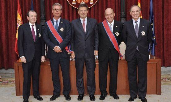 Reconocimiento a la trayectoria profesional de dos grandes figuras del despacho Roca Junyent
