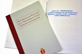 Guía práctica de actuación en la tramitación de causas complejas por corrupción