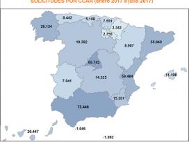 Más de 408.000 ciudadanos se benefician del Expediente Electrónico de Justicia Gratuita en los siete primeros meses de 2017