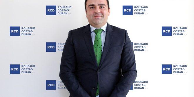 RCD – Rousaud Costas Duran ficha a Lucas Espada como nuevo socio del Área Fiscal