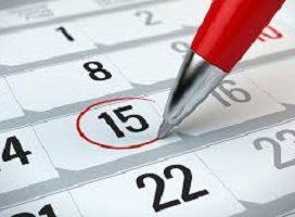 Se publica el calendario laboral para 2018